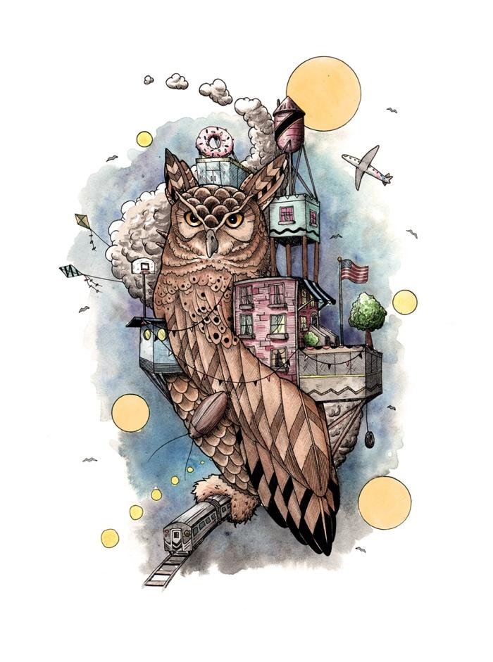 city owl 2 small