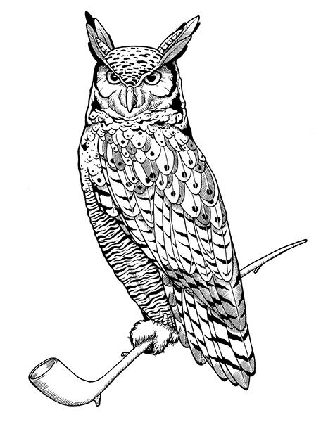 frank owl inked
