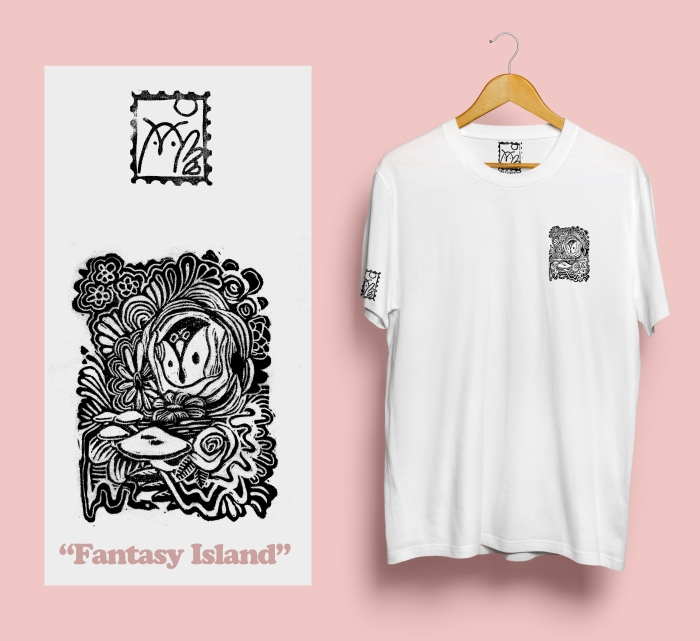 Fantasy Island shirt mock