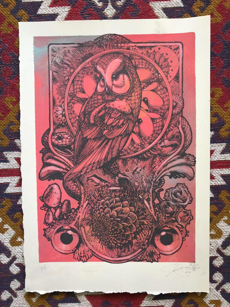 red owlprint